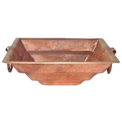 "Buy DakshCraft Pure Copper Havan Kund( Width - Upper - 7"" / Bottom - 2.4"" ) by undefined, on Paytm, Price: Rs.499?utm_medium=pintrest"