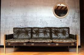 Image result for distressed leather sofa industrial chic