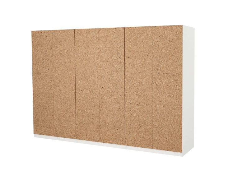 New To Ikea The Earth Friendly Cork Doors We Can T Stop Ogling Ikea Pax Wardrobe Ikea Cork