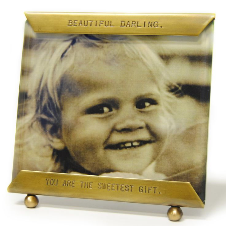 For my nightstand, with a picture of Grant! Sugarboo Designs Glass Frame Beautiful Darling @Layla Grayce