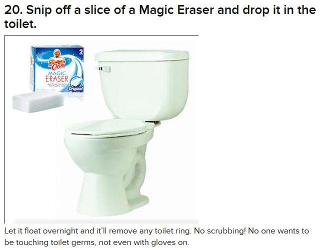 magic eraser for toilet