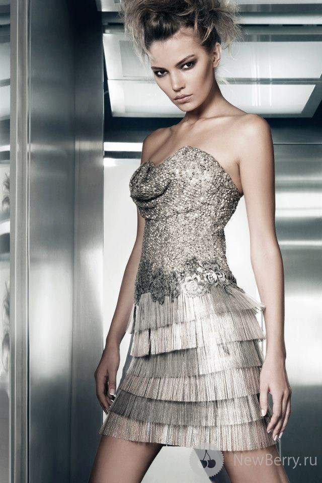Прекрасные платья Gemy Maalouf осень-зима 2012-2013
