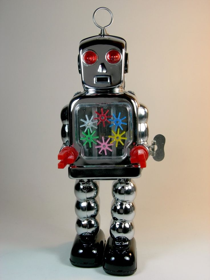Tin Toy Robots Retro ToysVintage
