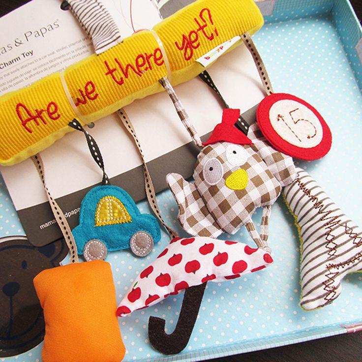 Детские путешествия шарм игрушки повешение игрушка коляски детские погремушки игрушки для детей ребенок подарок купить на AliExpress