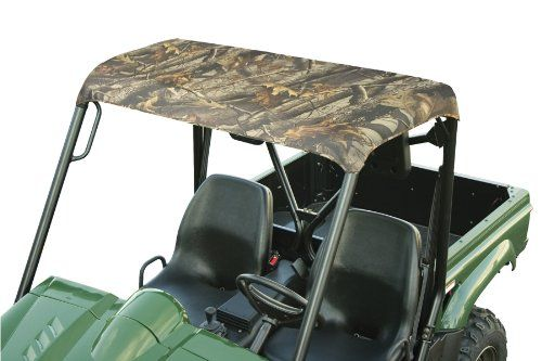 Classic Accessories QuadGear UTV Roll Cage Top for Kawasaki Mule 4000/4010,Yamaha Rhino, Polaris Ranger 2002-2008  Classic Accessories QuadGear UTV Roll Cage Top for Kawasaki Mule 4000/4010,Yamaha Rhino, Polaris Ranger 2002-2008 Easy on, easy off overhead protection for your UTV. Attaches to roll bar with 4 cinch-tight straps, rip-and-grip strips and 2 tension panel straps for quick, no-tools install. Made of heavy-duty U.V. resistant ProtekX Extreme fabric with PVC backing for extre..