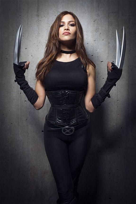 Sexy Black Female Wolverine Costume