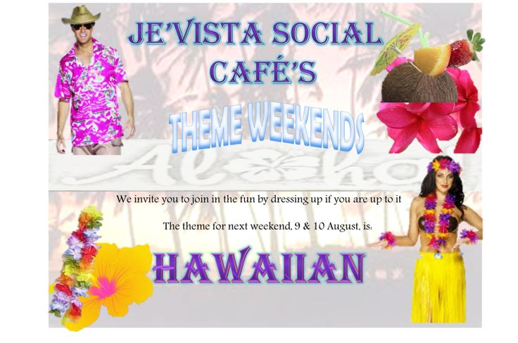 Our past themes - Hawaii theme. Head on over to our Facebook Page for updates on themes and photos.