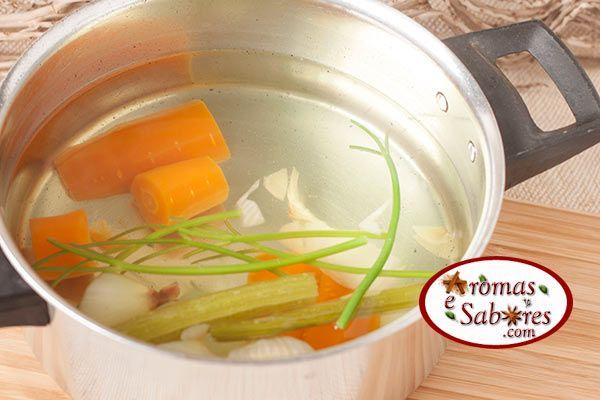 caldo legumes caseiro
