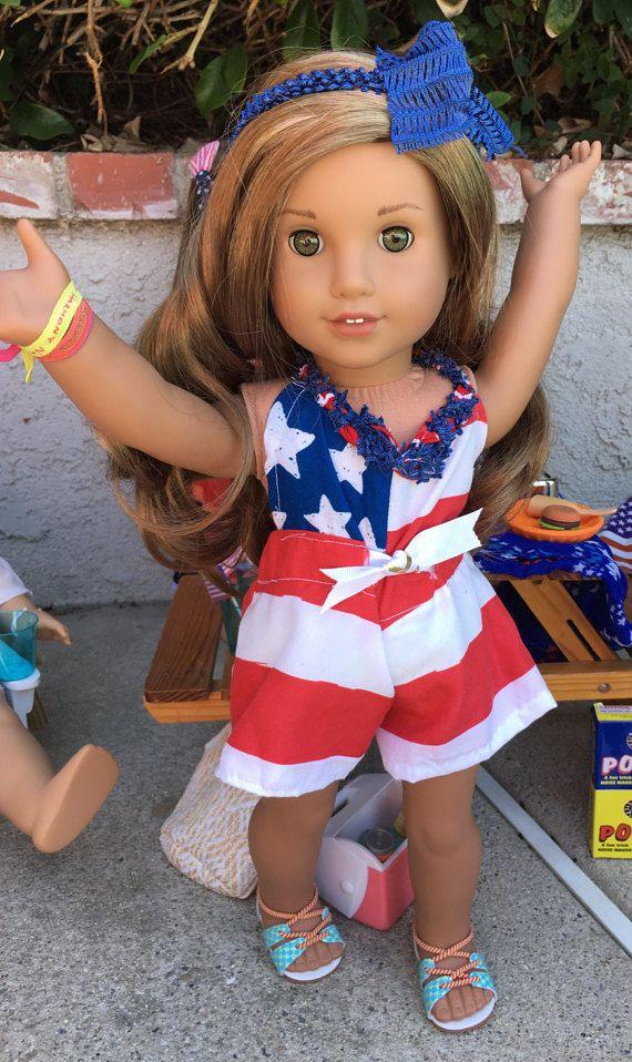 0e6f030b75e7 Lea Clark Inspired 4th of July American Flag by MermaidsAndDolls ...