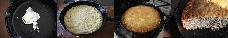 http://www.themeaningofpie.com/2012/04/skillet-banana-nut-bread/