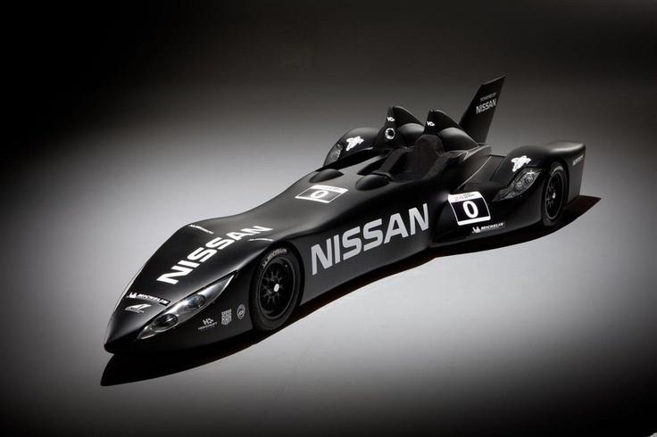 La Batmobile de Nissan pour les 24h du Mans