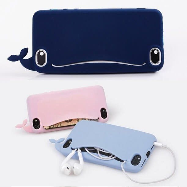 Meaford have designed this case for all the whale lovers around the world. Feed this cute whale and it will guard your money, bank cards or headphones for you. Comes with free stickers to customize the design. You can press the whales tail to use the sleep button on your phone. Made from soft TPU which helps to protect your phone from drops while being comfortable to use. Compatible with iPhone 6, 6 Plus, 6S, 6S Plus, 7, 7 Plus and available in 5 different colours. Only £8.99 with Free…