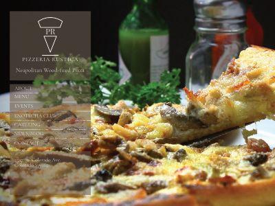 Pizzeria Rustica 2nd Mockup