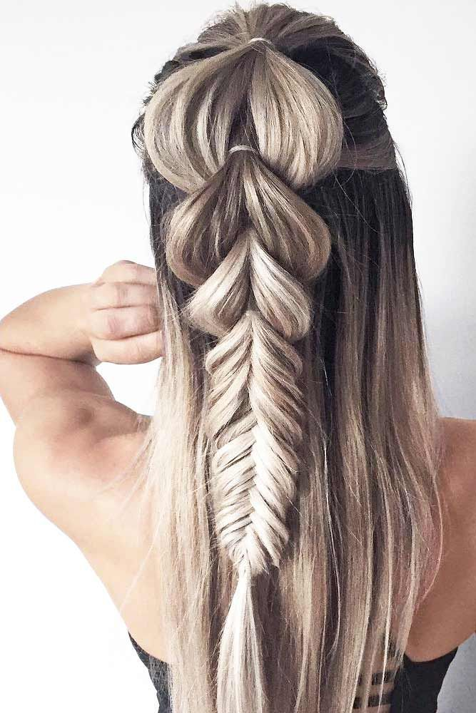 Braided Hairstyles for Summer 2017 ★ See more: http://lovehairstyles.com/braided-hairstyles-for-spring/