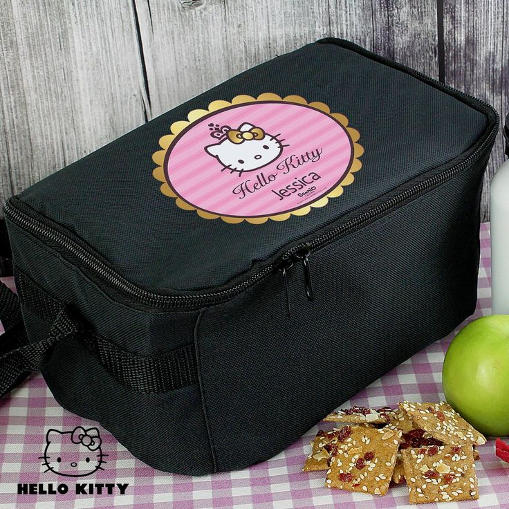 Send your kid's lunch to school or nursery in this girly lunch bag.