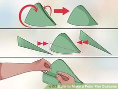 Image titled Make a Peter Pan Costume Step 10
