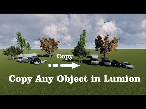 how to duplicate object in lumion 8 | Best tutorials