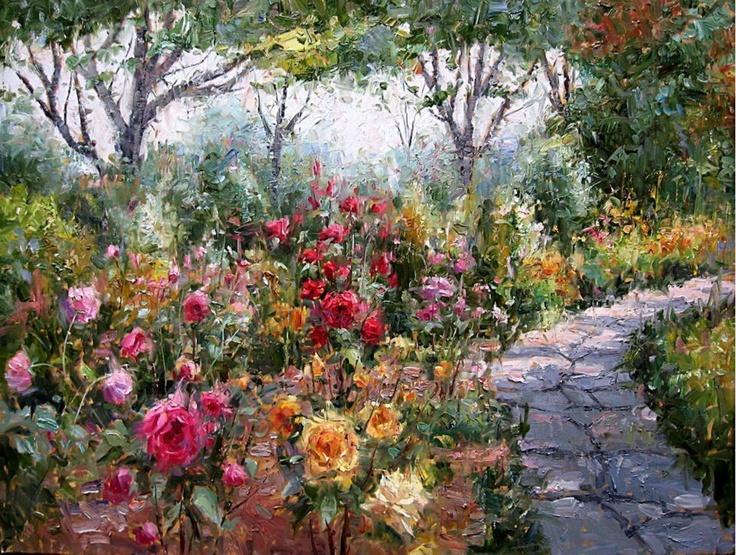 Simple Flower Garden Paintings 381 best flower gardens images on pinterest | flower gardening