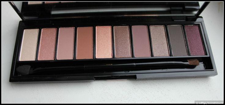 L`oreal paris color riche la palette nude 01 rose палитра теней для век