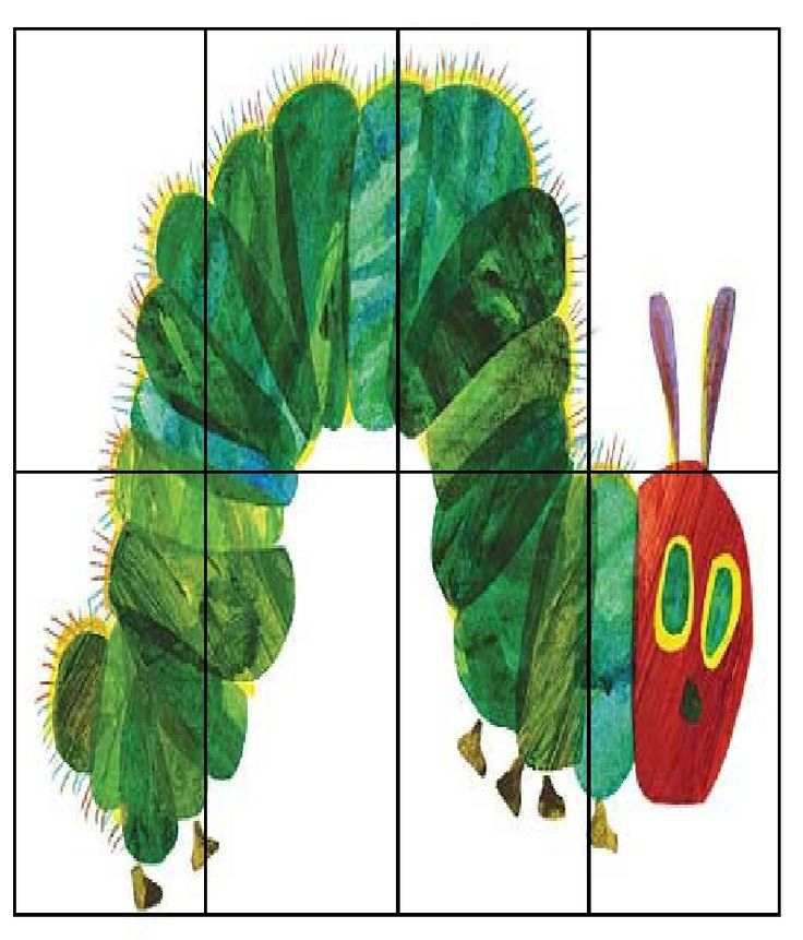 i like the matching food puzzle and the caterpillar puzzle for older kids