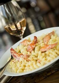 Amazing LOBSTER MAC AND CHEESE at  Canoe Restaurant & Tavern, Center Harbor, NH