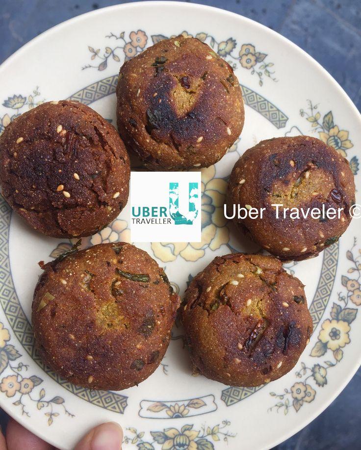 Bajra ke Tikki - Pearl Millet cutlets - deep fried