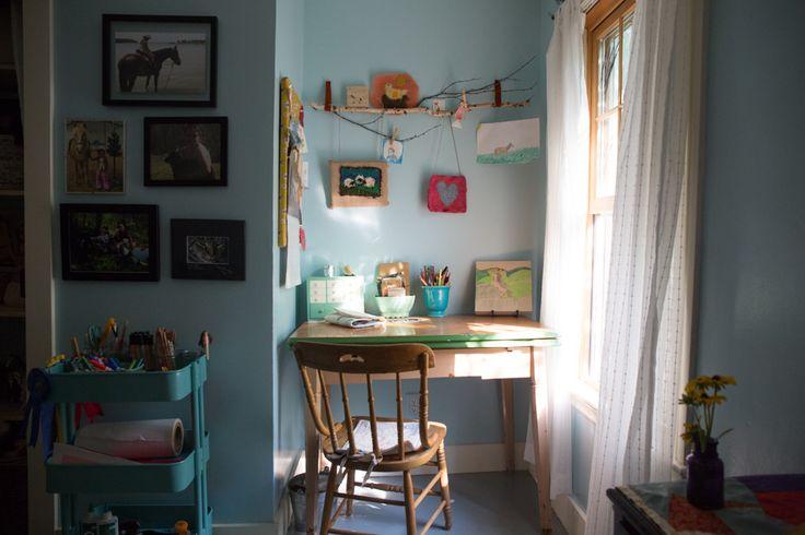 Kid desk area
