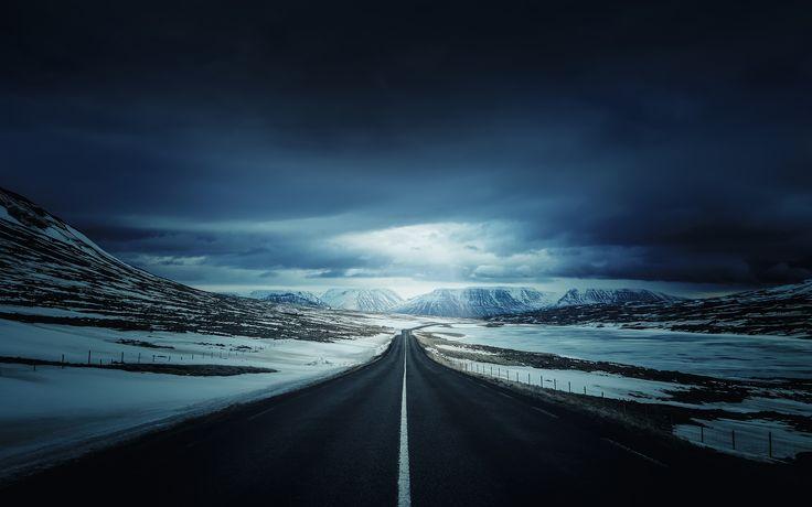 Iceland's Ring Road WallPaper HD - http://imashon.com/typography/icelands-ring-road-wallpaper-hd.html