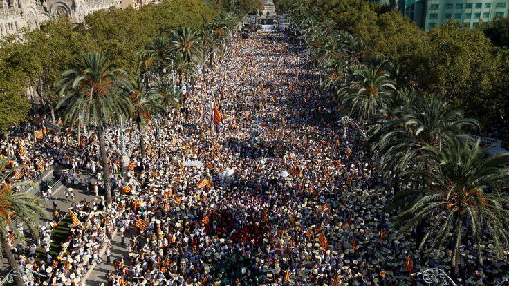 La Universidad de Florida pincha el suflé de la Diada: sólo asistieron 292.000 personas