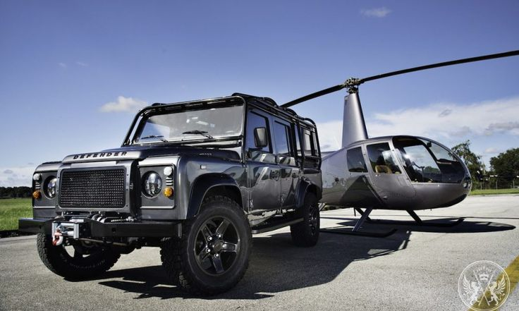 Behold the 225,000 Project XIII, Custom Land Rover