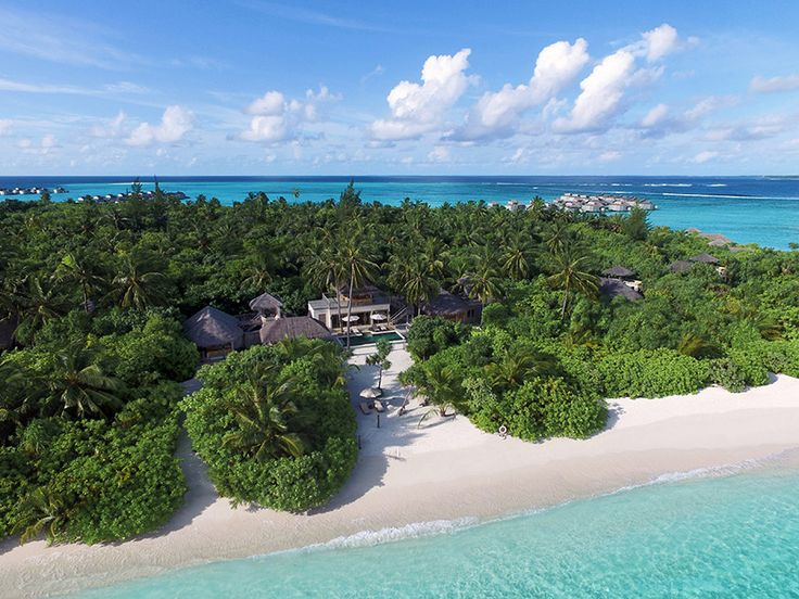 Two Bedroom Ocean Beach Villa With Pool At Six Senses Laamu, Maldive.