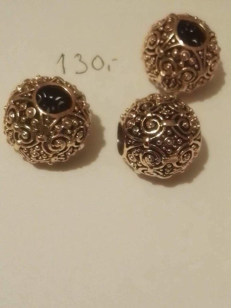 Bronze perle, stor: 130 kr ø ca 1,8 cm