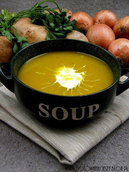 Zupa ziemniaczano-cebulowa