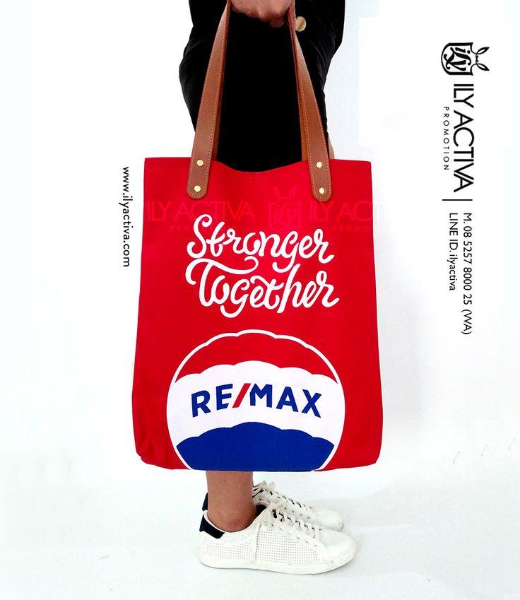 Canvas Tote Bag -- RE/MAX, Jakarta