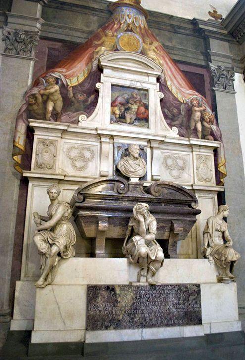 ¿Sabías qué...? Tumba de Miguel Ángel Buonarroti en Santa Croce</h4>   José Miguel Hernández Hernández