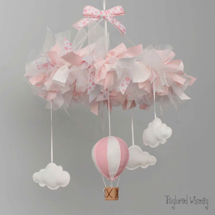 Hot Air Balloon Mobile - Baby Mobile - Custom Baby Mobile (not ready made) - Ships in 4-6 Weeks by TayloredWhimsy on Etsy https://www.etsy.com/listing/229064940/hot-air-balloon-mobile-baby-mobile