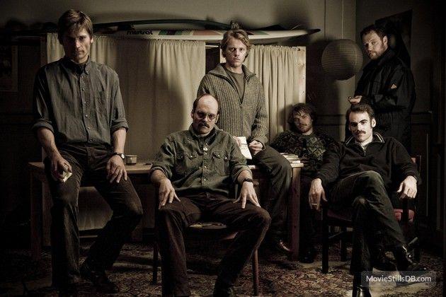 Blekingegade - Promo shot of David Dencik, Ulrich Thomsen, Nikolaj Coster-Waldau, Thure Lindhardt, Sebastian Blomberg & Pilou Asbæk
