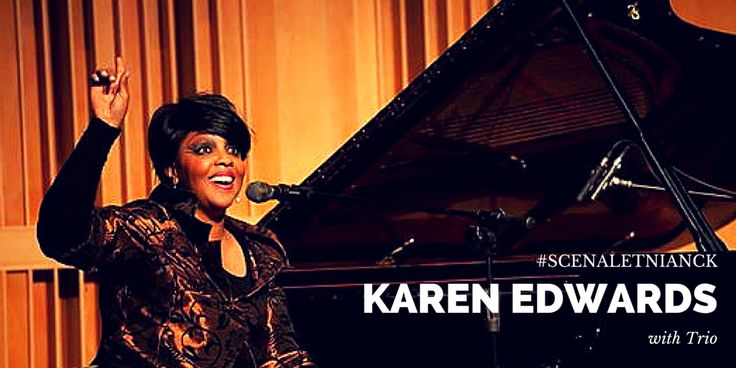 """To będzie wielkie muzyczne wydarzenie!  18 lipca, o godzinie 19.oo na plenerowej scenie przed NCK, w ramach Nocy Jazzu odbędzie się show popularnej amerykańskiej wokalistki i pianistki soulowo-jazzowej KAREN EDWARDS z jej triem. Program będzie złożony z przebojów muzyki soul, jazz, gospel.  W ramach koncertu wystąpi Grupa Baletowa """"Etiuda"""" z NCK, prowadzona przez Katarzynę Stolarczyk, która przedstawi jazzowe interpretacje prezentowanych utworów.  Serdecznie zapraszamy! wstęp wolny"""