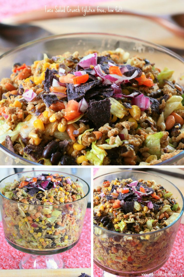 Seriously Delicious Taco Salad with an Italian Twist! Gluten Free, Low Fat, THM E and Oh so good! Perfect Summer Meal!