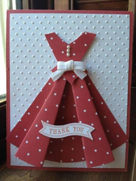 Dress Pattern by mommacharles - Cards and Paper Crafts at Splitcoaststampers
