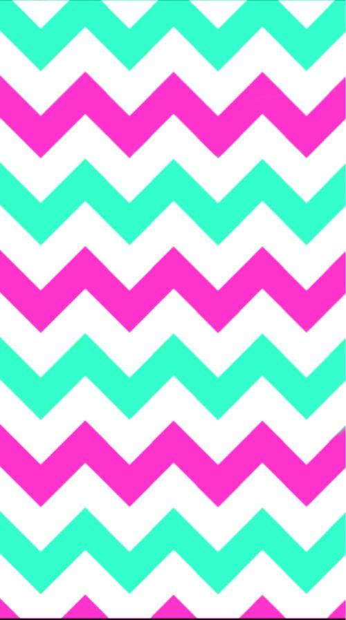 hot pink chevron wallpaper - Google Search | Party ideas