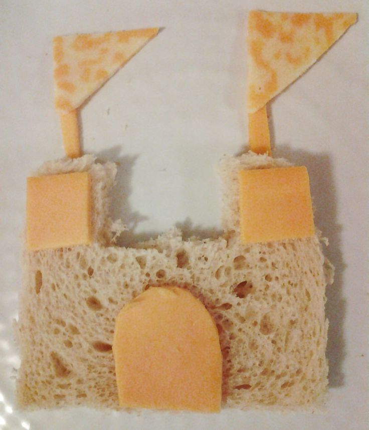 Castle Sandwich-Great for Fun Friday Snack