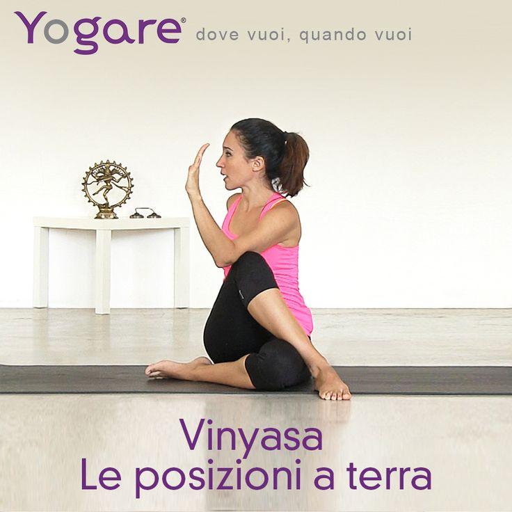 Introduzione al Vinyasa, le posizioni a terra con Sara C.N. Bigatti su #Yogare #Yoga http://www.yogare.eu/video-156