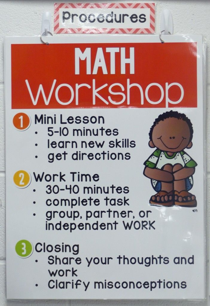 Math workshop is more manageable than you think!  Check out these great ideas on how to organize your time to get the most out of math workshop!