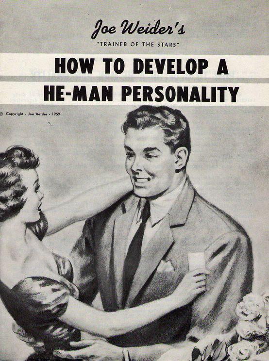Den här behöver nog jag läsa. Och kanske du också bäste Bror: How to develop a He-Man personality - Retronaut