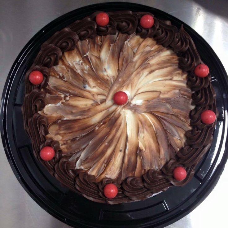 Chocolate Cake decorated by Coast Cakes Ltd