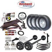 Hydraulic Dump Trailer Parts Kit – 12K Axle Capacity – Model 12HD – Johnson Trailer Parts