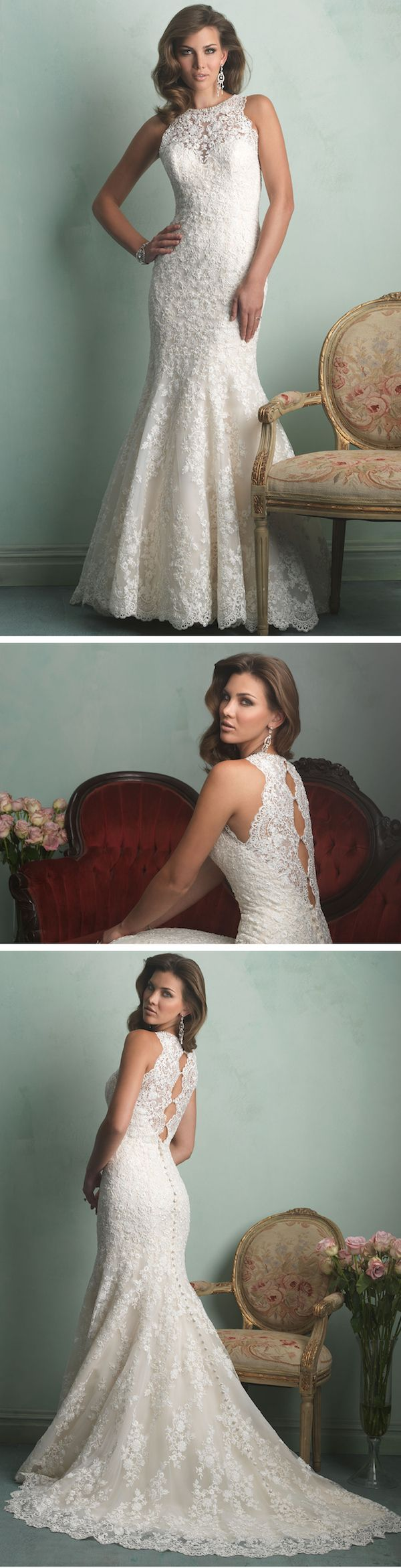 Allure 9154 wedding dresses indianale salon bridal for Wedding dress boutiques chicago