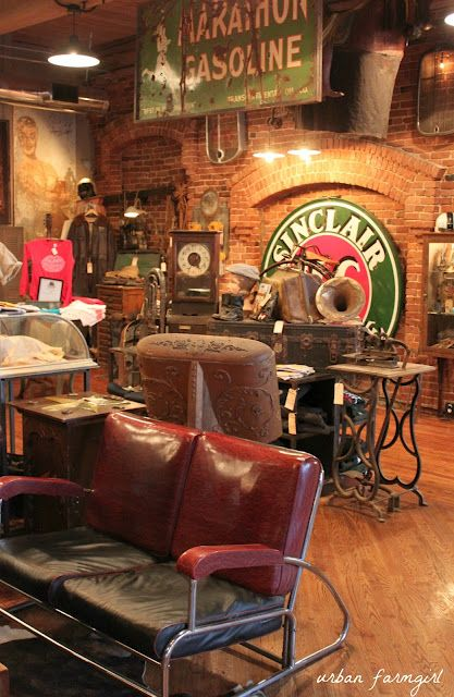 Antique Archaeology, the Nashville store of the American Pickers. Loved this place!