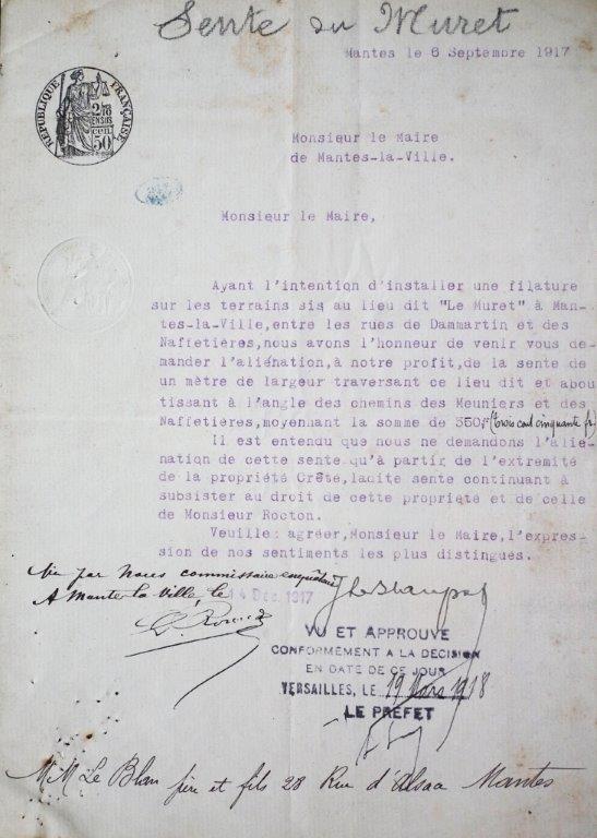 a. (archives mairie de Mantes-la-Ville)
